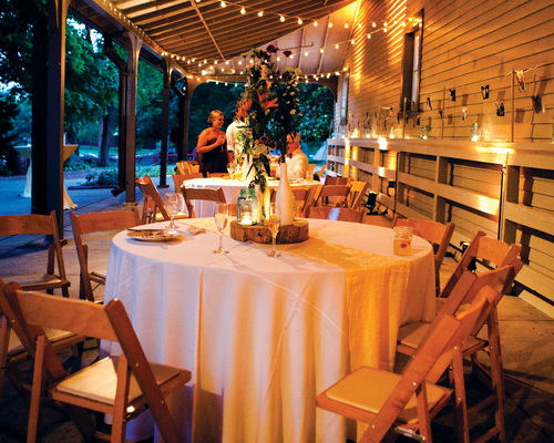 Outdoor porch wedding packages nashville