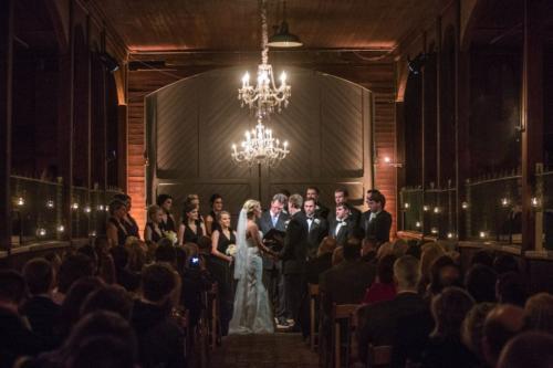Nashville barn ceremony vows